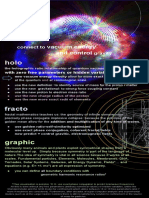 Holo Fracto Graphic SUMMERY EXPLANATION FLYER