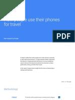 Google App Marketing Travel Consumer Journey