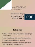 RF Telemetry Application Presentation