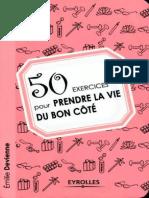 50 Exercices Pour Prendre La Vie Du Bon Coté
