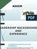 Ant Paradigm Presentation