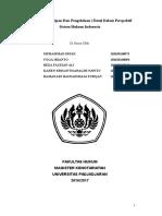 Perjanjian Penitipan Dan Pengelolaan (Trust) Dalam Perspektif Sistem Hukum Indonesia