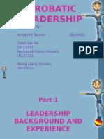 Acrobatic Leadership