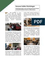 Hanauer Helfen Flüchtlingen