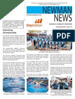 Newman News December 2016 Edition