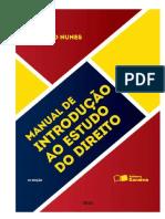 2016 Manual de Introdução Ao Estudo Do Direito 13ª Ed Rizzatto Nunes 230p. Scaneado