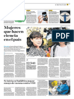 Mujeres Que Hacen Ciencia en El País