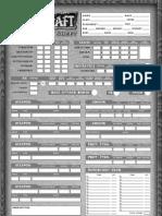 Warcraft Sheet
