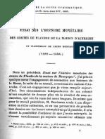 Essai sur l'histoire monétaire des Comtes de Flandre de la maison d'Autriche et classement de leurs monnaies (1482-1556) / [Louis Deschamps de Pas]