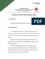 ECE Project Study 1 Form No. 1 Sample