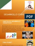 DESARROLLO COGNITIVO(diapos)