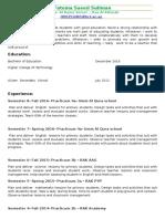 resume- fatema saeed suliman - 2