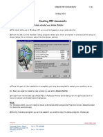 Creating PDF Documents From x Steel