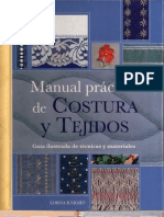 Manual Práctico de costura y tejidos