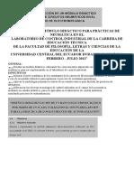 Diseño de Un Módulo Didáctico Para Prácticas de Neumática en El