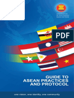 Guide to ASEAN Practices and Protocol