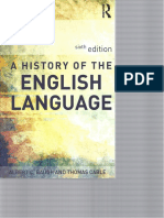 Baugh & Cable a History of the English Language 6th Ed