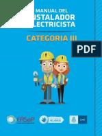 Manual Instalador Electricista CatIII