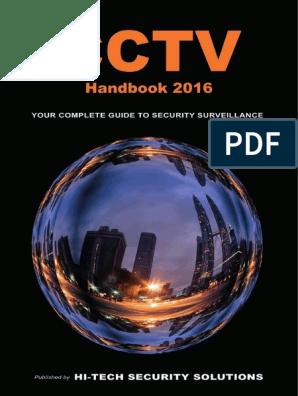Cctv Handbook 2016 | Closed Circuit Television | Surveillance