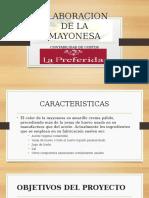 Elaboracion de La Mayonesa