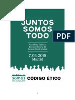 Codigo Etico Sindical de Somos Sindicalistas