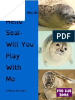 Hello Seal Sight Words