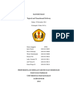Kelas a 2015_Kelompok 2_Preformulasi_Topical and Transdermal Delivery