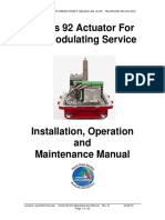 OMSeries 92 Act for a C Modulating Svc Manual