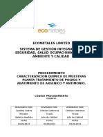 Cclm-p-01 Caracterizacion Quimica de Muestras Ptpa