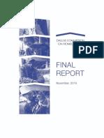 Final Report Dallas Commission