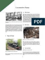 Locomotive Frame