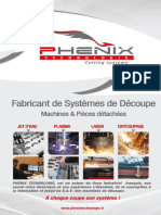 Phenix Technologie Plaquette Corporate
