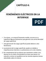 CAPITULO 4 Fenomenos Electricos de Interfase