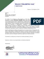 Carta Presentación Servicios 2016