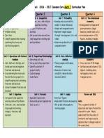 Curriculum Map Math 7 16-17