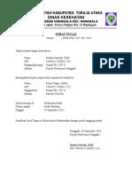 Surat Tugas 2015