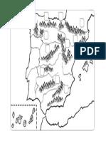 Mapa Montañas