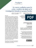 Fundamentos Cualitativos Para Grupos Focales