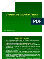 Cadena de Valor Interna