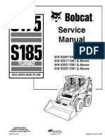 Bobcat S175 Parts Manual Serial 5301 11001 & Above, 5302