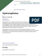 Hydrocephalus - Pediatrics - Merck Manuals Professional Edition