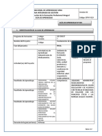 Guia de Aprendizaje GFPI-F-019 Fundamentos de Inyectologia