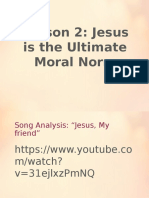 Jesus Ultimte Norm