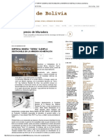 """Empresa Minera """"Tierra"""" Ejemplo Destacable en La Mineria No-metalica _ Mineria de Bolivia"""