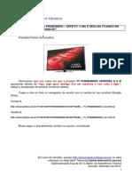 """TV PH58E38DSG – DEFEITO """"LIGA E DESLIGA FICANDO EM.pdf"""