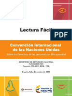 Cartilla de Lectura Facil de La Convencion Final