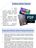 Kegunaan Radium Dalam Industri