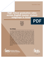HS Graduation Rates Across English-Learner Subgroups in Arizona