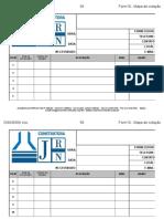 Form18 - Mapa de Cotação GRANDE-JRN