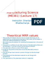 Manufacturing Science (ME361) (Lecture 17-19).ppt